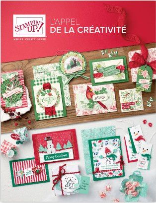 catalogue automne/hiver 2019 Stampin'up!