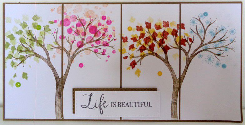 life is beautiful stampin'up!