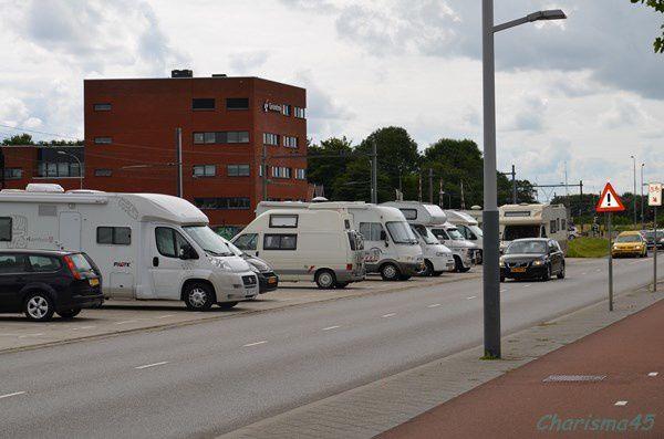 Parking jour/nuit de Middelburg