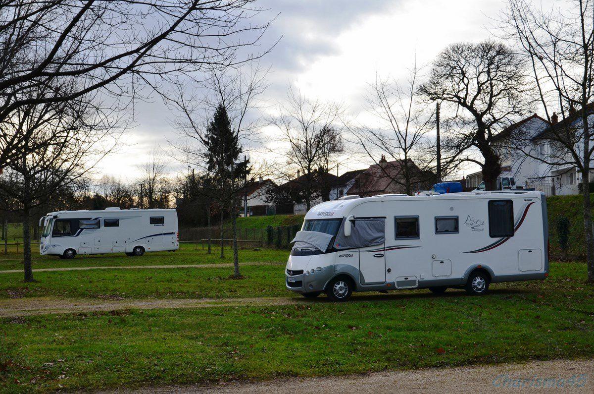 Menton en camping-car
