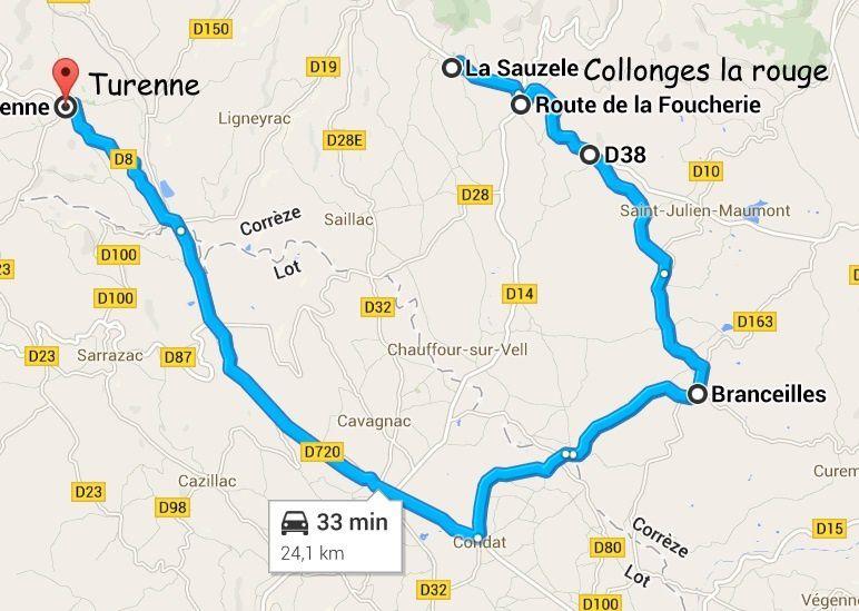 Turenne (Limousin en camping-car)