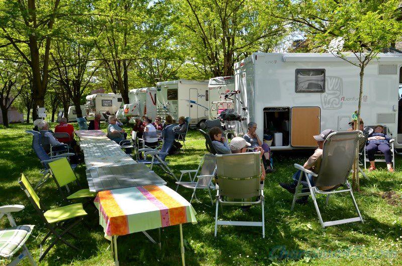 Camping Belle rive à Saint Come d'Olt