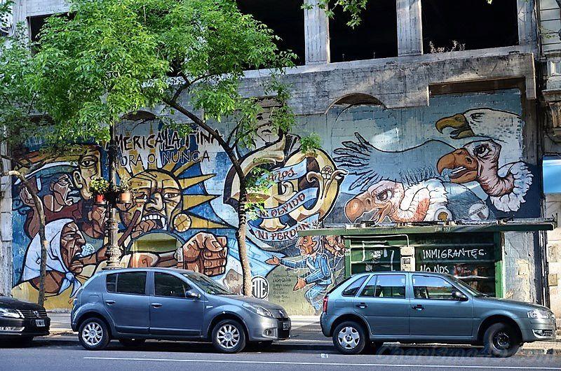 Buenos-Aires, (Argentine en camping-car)