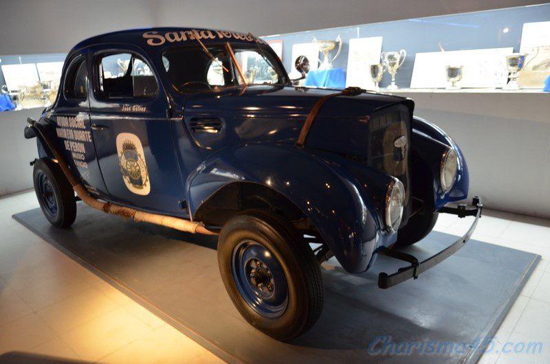Musée Fangio, Balcarcé (Argentine en camping-car)
