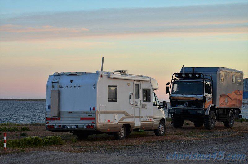 Bahia bustamante, Argentine en camping-car