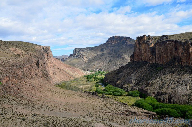 Cuevas de las manos, Argentine en camping-car