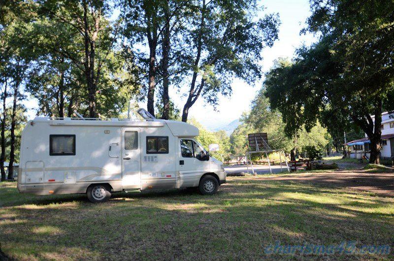 Los Pioneros, Melipeuco (Chili en camping-car)