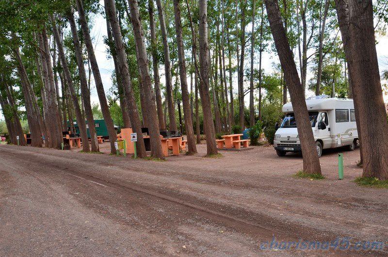 Malarguë, Argentine en camping-car