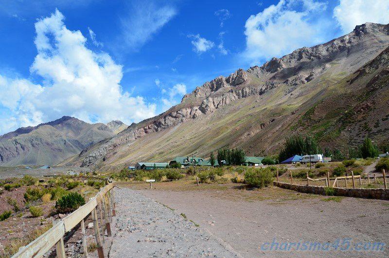 Puente del Incas, Argentine en camping-car