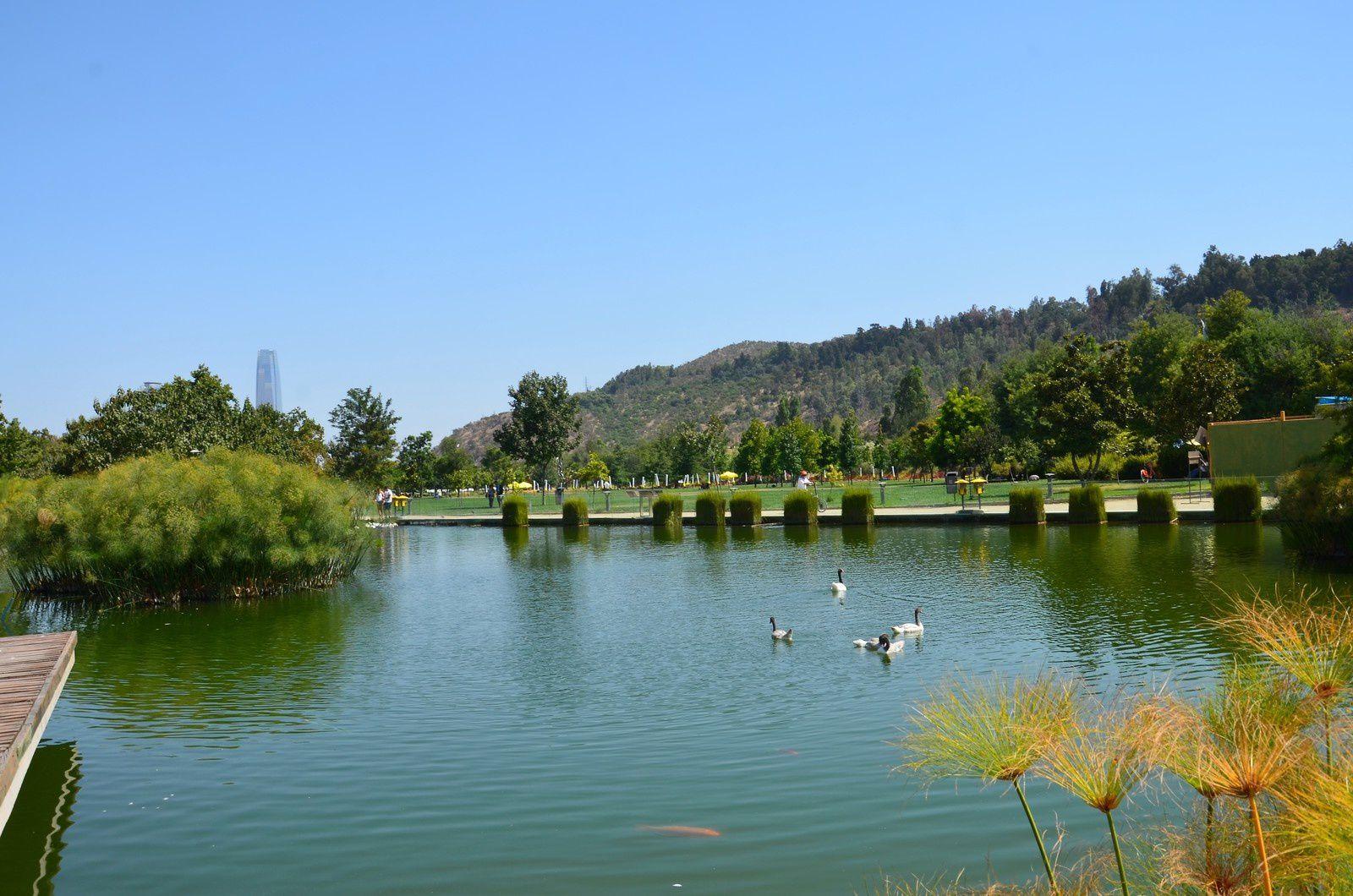 Santiago (Chili en camping-car)