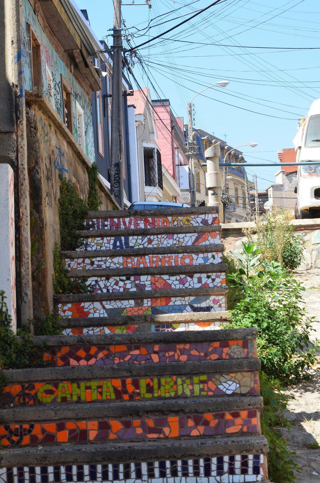 Valparaiso (Chili en camping-car)