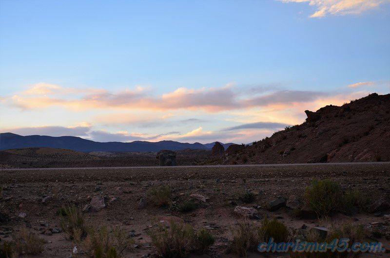 Ruta 52, Susques, Argentine en camping-car