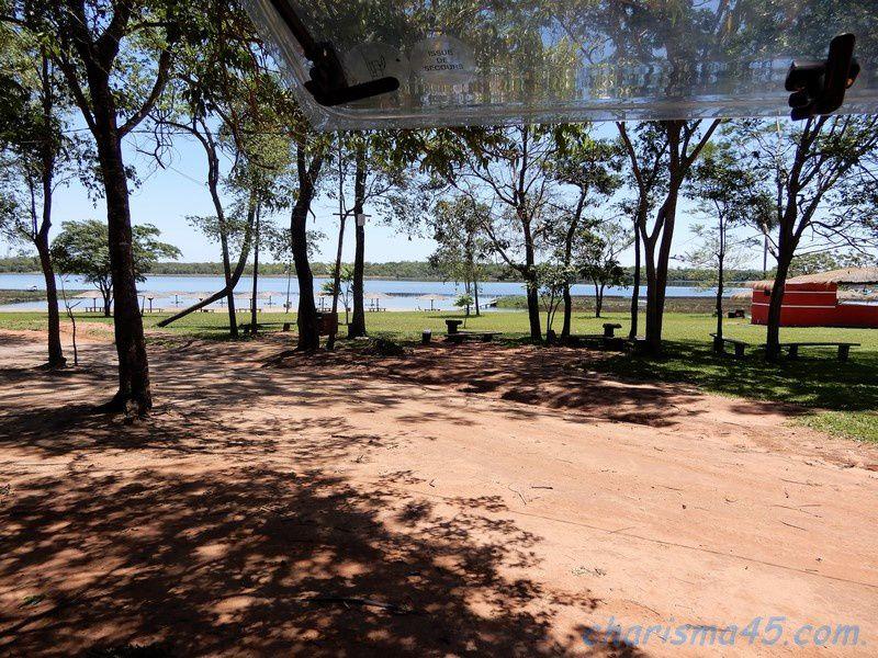Laguna blanca (Paraguay en camping-car)