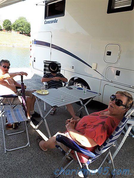 Aire de camping-car de Strepy Thieu (Belgique en camping-car)