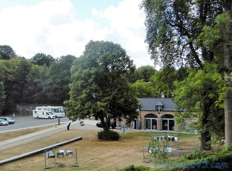 Abbaye de Villers la ville (Belgique en camping-car)
