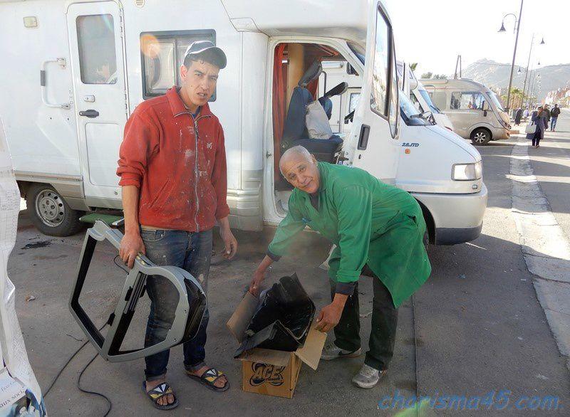 Carrosserie-peinture Mohamed Farih (Maroc en camping-car)