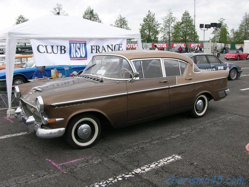 Opel Kapitan (Classic-Days en camping-car)
