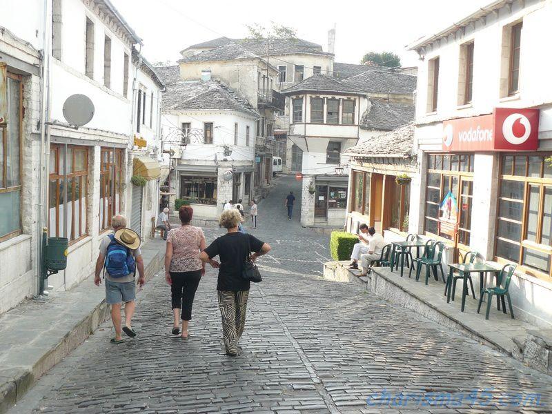 Girokastra (Albanie en camping-car)