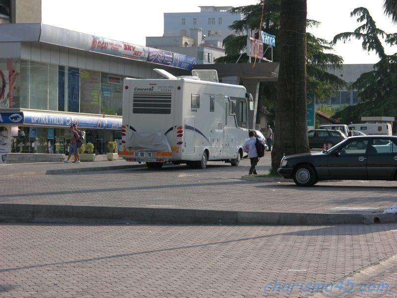 Elbasan (Albanie en camping-car)