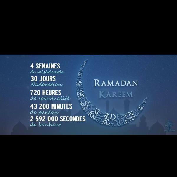 Le Ramadan c'est...