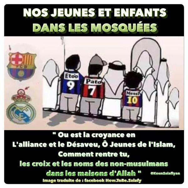 L'idole des enfants musulmans ....