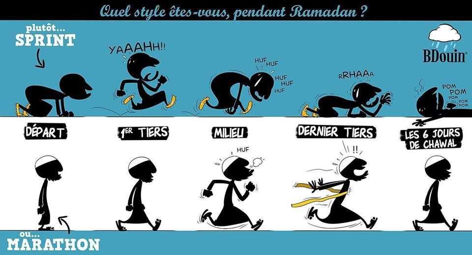 Quel style êtes-vous pendant Ramadan ?