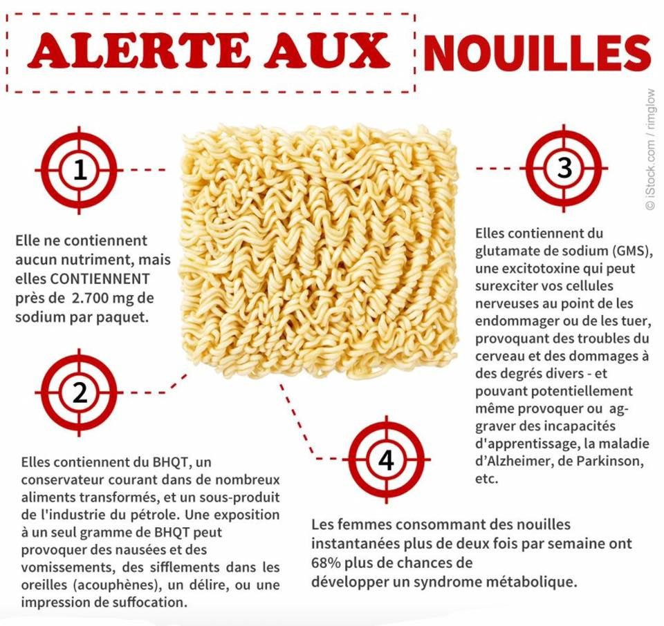 Attention aux nouilles ......