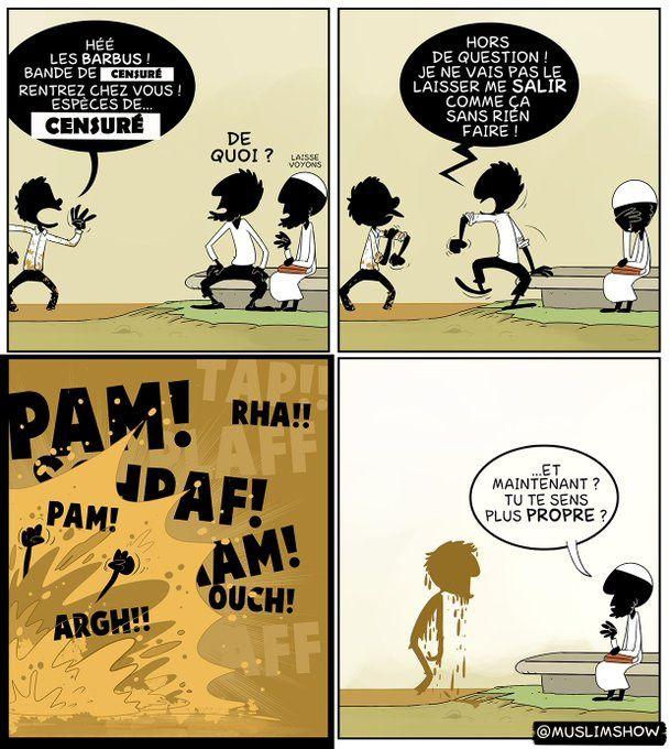 La différence entre le dialogue et la polémique, C'est qu'avec la polémique, Personne en ressort grandi...