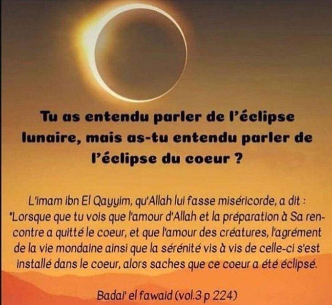L'éclipse du cœurs ...