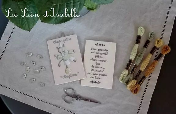 Nouvelle créatrice : le Lin d'Isabelle
