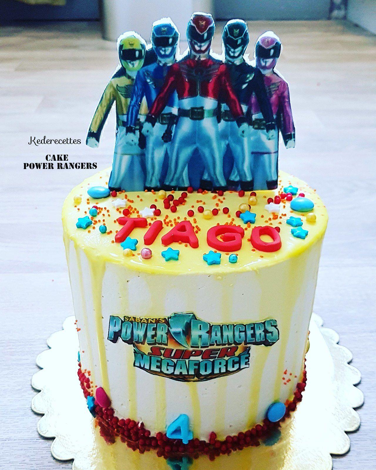 Layer Cake Power Rangers