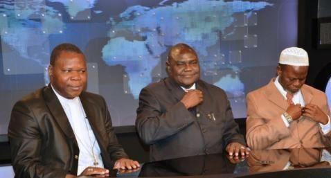 Papa Francesco incoraggia i tre leader religiosi centrafricani