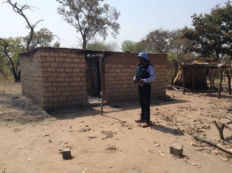 Afflux massifs des déplacés versPaoua en Centrafrique