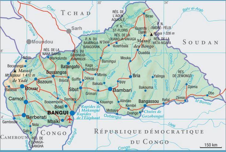 Lu pour vous ; République centrafricaine a-t-elle un nom aussi barbant?