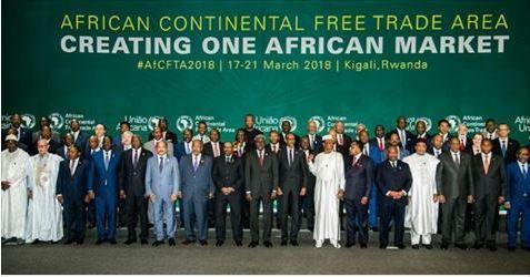 44 pays africains signent un accord créant une zone de libre-échangecontinentale