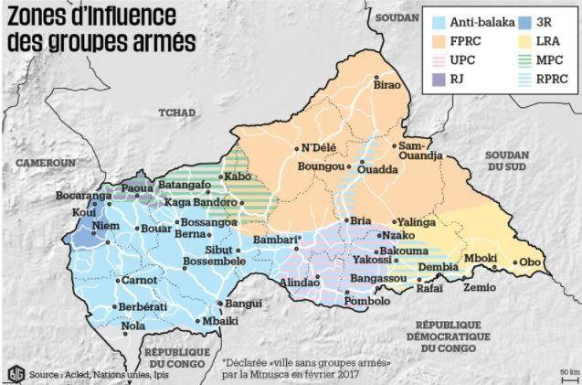 Centrafrique : Plusieurs déplacés de Bambari arrivent en masse à Sibut
