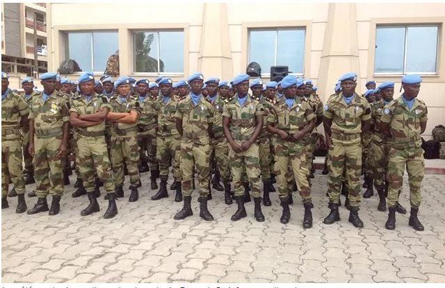Minusca: Le retour du contingent gabonais reporté au 30 septembre