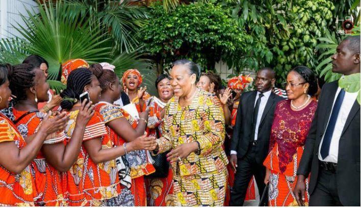 CONFERENCE DU LEADERSHIP FEMININ: Catherine Samba Panza au Gabon
