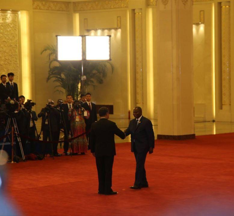 ALLOCUTION DU PR FAUSTIN ARCHANGE TOUADERA AU SOMMET CHINE AFRIQUE DE BEIJING
