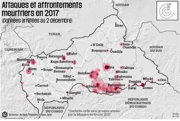 Le sort des humanitaires est inquiétant en Centrafrique (ONG)