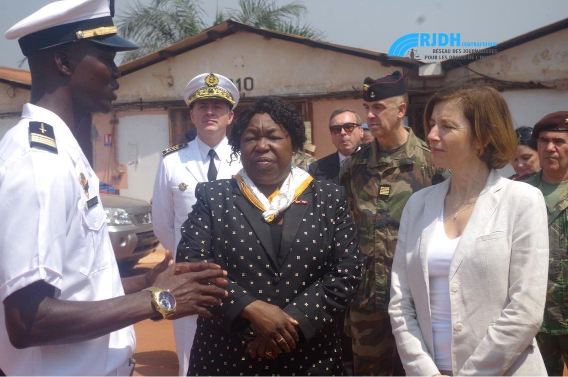 La France aux côtés de la République centrafricaine