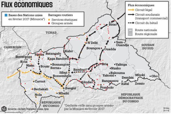 Objet de toutes les convoitises : la Centrafrique, un pays dévoré par la guerre