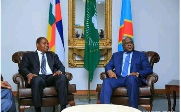 Le Président Touadéra en visite de courtoisie et d'amitié à Kinshasa