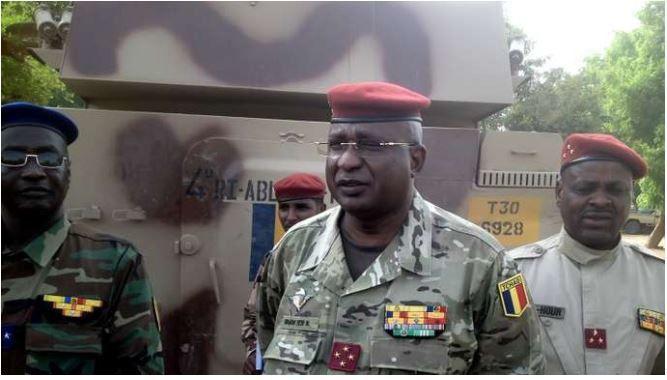 Au Tchad, remplacement du chef d'état-major général des armées