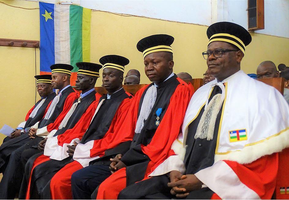 RCA: formation des avocats du corps spécial de la CPS