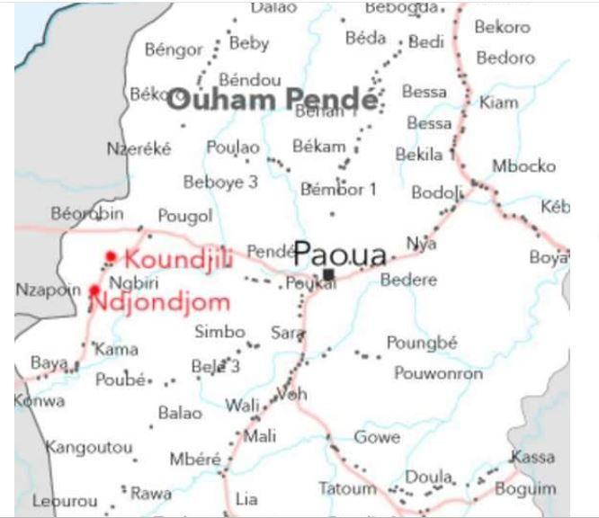Tueries de Paoua : L'Ambassade des USA donne un bilan plus élevé