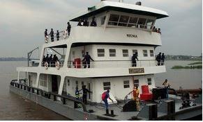 Transport fluvial : un accord pour améliorer la navigation sur le fleuve Congo