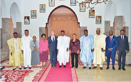 Le Chef de L'Etat nigérien reçoit plusieurs anciens Chefs d'Etat