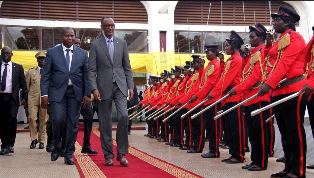 Centrafrique : cinq accords de coopération sanctionnent la visite d'Etat du président rwandais
