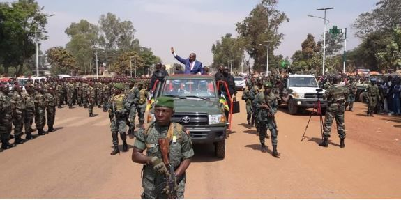 Bangui : Félix Tshisekedi prend part à la fête de la RCA